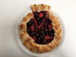 Strawberry and Cherry Galette